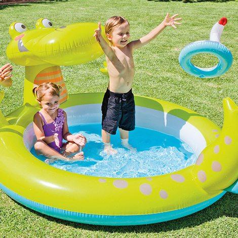 Al agua pato piscinas para ni os ni as y beb s en distria for Piscinas para bebes