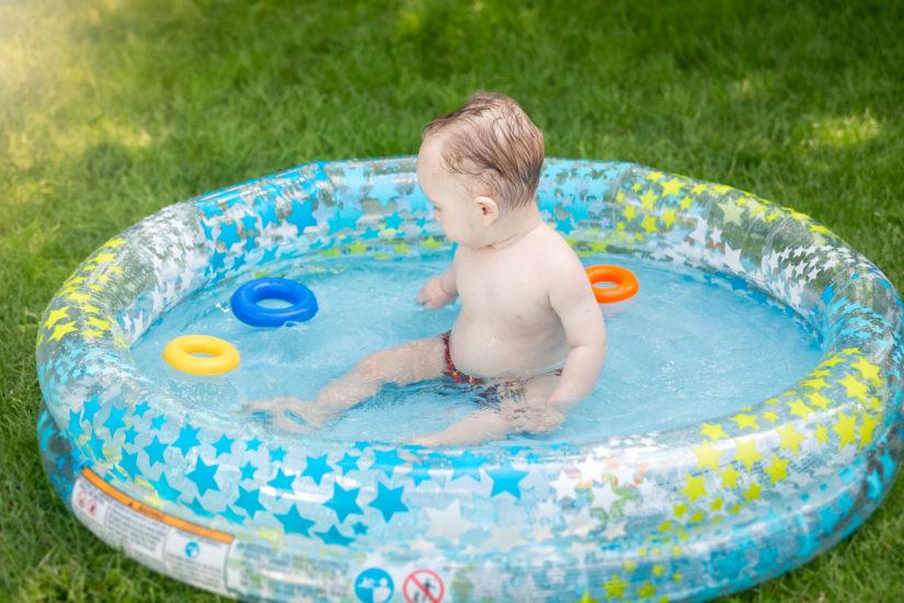 piscina hinchable infantil