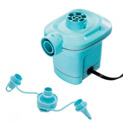 hinchador eléctrico azul
