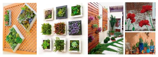 paredes el jardín
