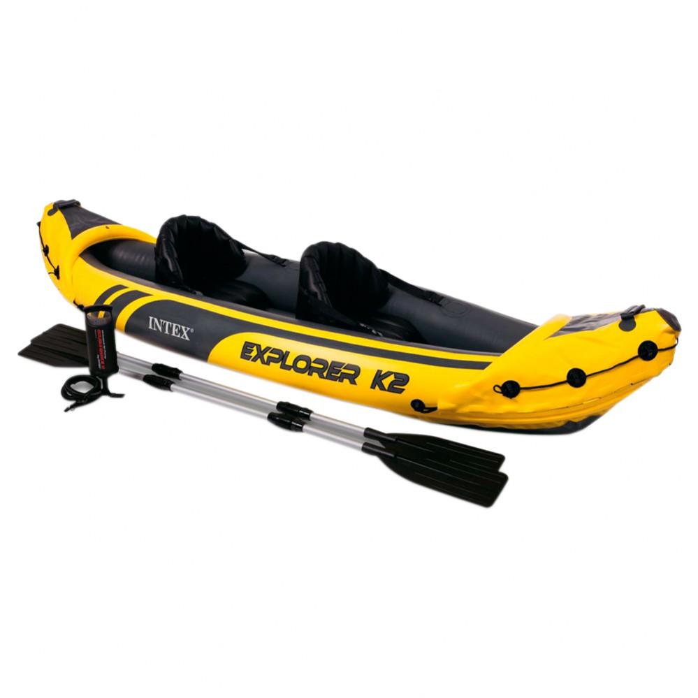 El mundo del kayak Explorer k2