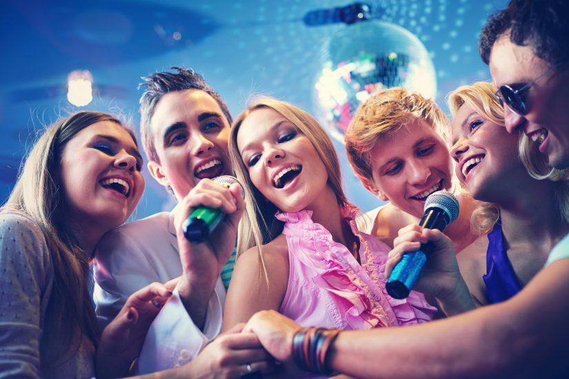 karaoke y noche de eurovision